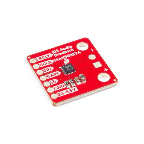 DEV-14809 - MAX98357A I2S Audio Breakout SparkFun