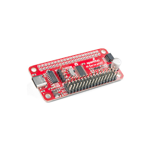 DEV-15316 - Servo pHAT for Raspberry Pi I2C USB-C SparkFun