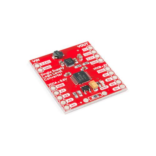 PRT-14765 - TXB0104 Single Supply 4-bit Bidirectional Logic Level Converter Board SparkFun