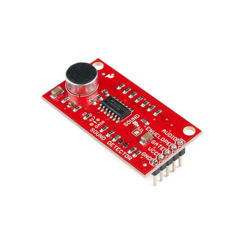 SEN-14262 - Sound Detector/Sensor Board with Headers Board SparkFun