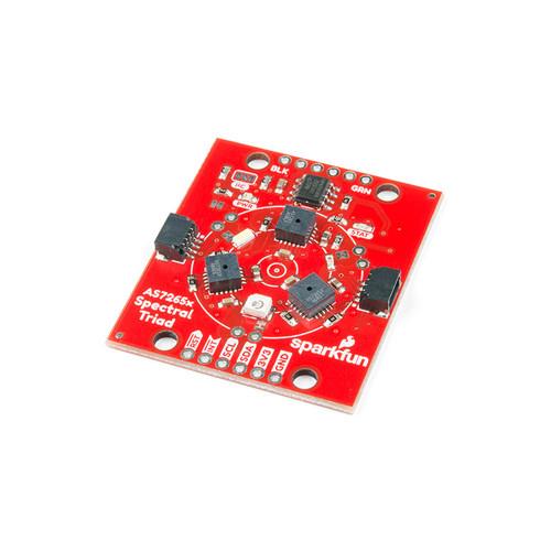 SEN-15050 - AS7265x Triad Spectroscopy Sensor Board Qwiic I2C SparkFun