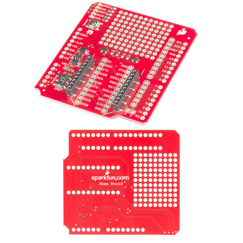 WRL-12847 - XBee Shield for Arduino UART SparkFun