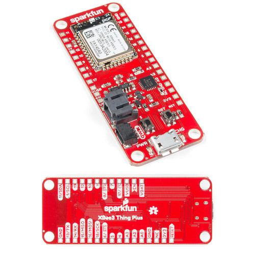 WRL-15454 - Thing Plus XBee3 Micro Board Chip Antenna SparkFun