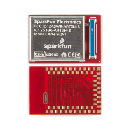 WRL-15484 - Artemis Module Machine Learning BLE Cortex-M4F SparkFun