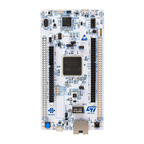 NUCLEO-H745ZI-Q - STM32 Nucleo-144 STM32H745ZI Development Board, Arduino/ST Zio/Morpho Connectivity - STMicroelectronics