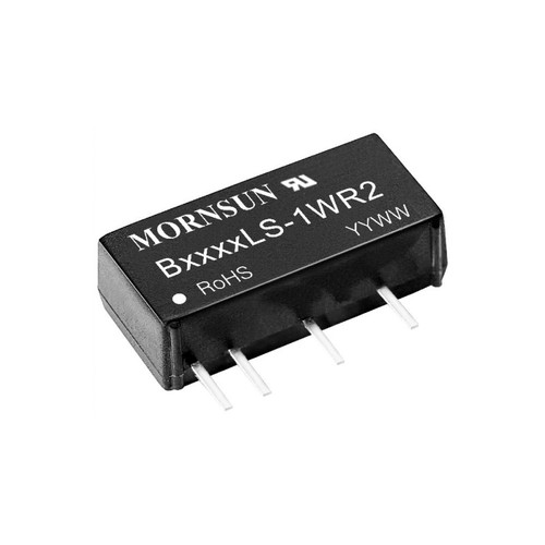 B2415LS-1WR2 - 1W Fixed Voltage Input Isolated Unregulated Single Output 4-Pin SIP - MORNSUN