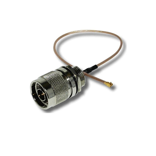 N-Type-M-UFL-B-15 - U.fl Ipex to N-Type Male Plug RF Antenna Connector 15cm Pigtail Cable