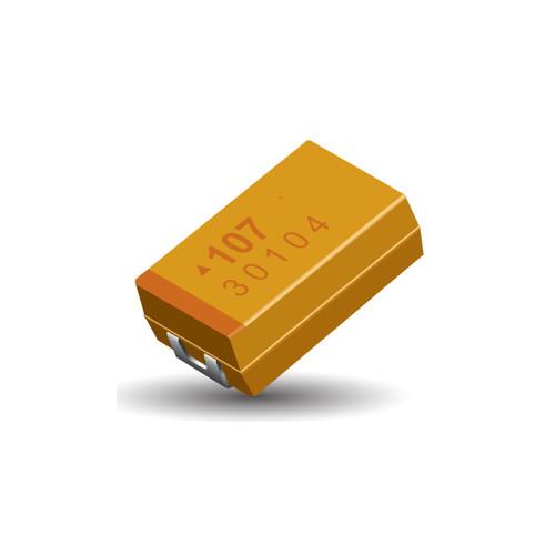 TAJD107K035RNJ - TAJ Series 100uF 35V 10% Standard Chip Tantalum Capacitor SMD 2917 - AVX