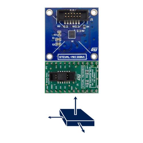 STEVAL-MKI208V1K - IIS3DWB 3D Accelerometer 3D Gyroscope Sensor iNemo Inertial Module Kit - STMicroelectronics