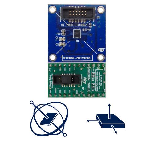 STEVAL-MKI210V1K - ISM330DHCX 3D Accelerometer 3D Gyroscope Sensor iNemo Inertial Module Kit - STMicroelectronics