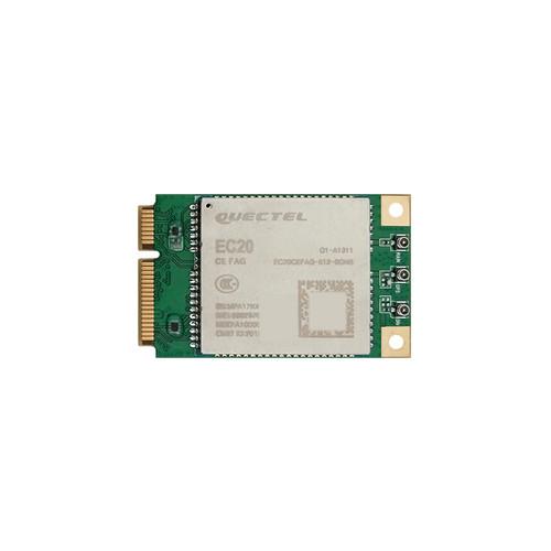 EC20-CEFAG-MINIPCIE - EC20 Mini PCIe Multi-mode LTE UMTS HSPA+ Module GSM/GPRS/EDGE Coverage - Quectel