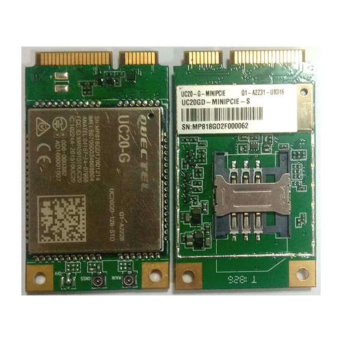 UC20-G-MINIPCIE-S - UC20-G Mini PCIe UMTS HSPA+ Module GSM/GPRS/EDGE Coverage - Quectel