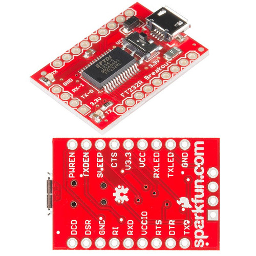 BOB-12731 - USB to Serial Breakout FT232RL UART SparkFun - SparkFun