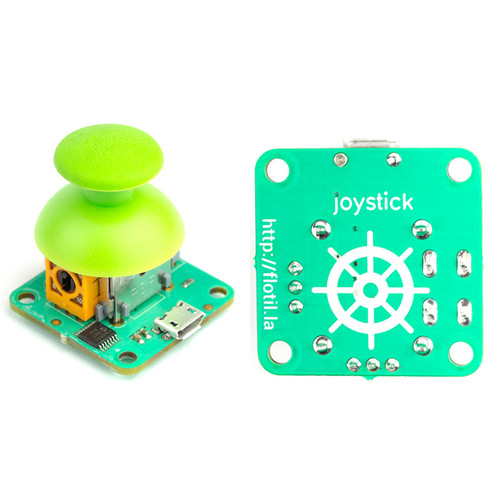 PIM034 - Flotilla Analog Joystick Module with Click Button - Pimoroni