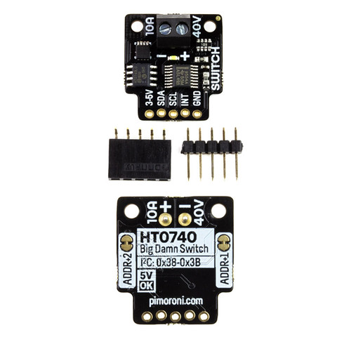 PIM455 - 40V 10A HT0740  Switch Breakout I2C-controllable - Pimoroni