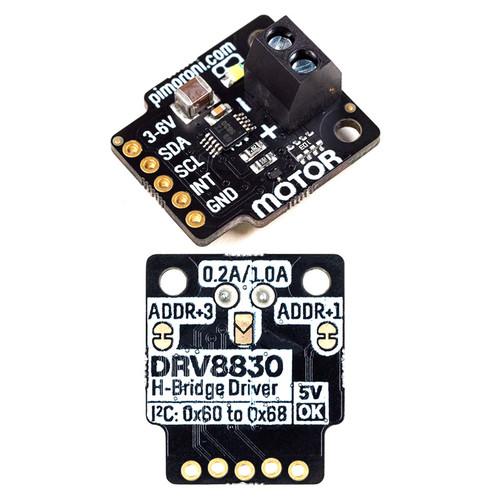 PIM479 - DRV8830 DC Motor Driver Breakout I2C-controllable - Pimoroni