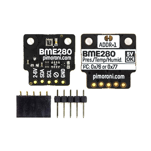 PIM472 - BME280 Breakout Temperature Pressure Humidity Sensor I2C - Pimoroni