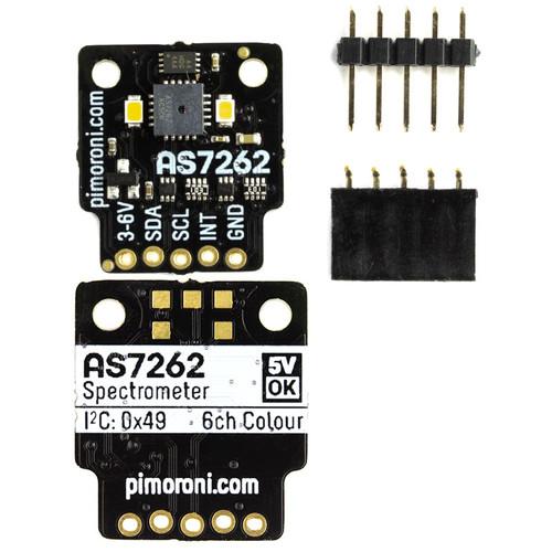 PIM412 - AS7262 6-channel Spectral Sensor Spectrometer Breakout I2C - Pimoroni