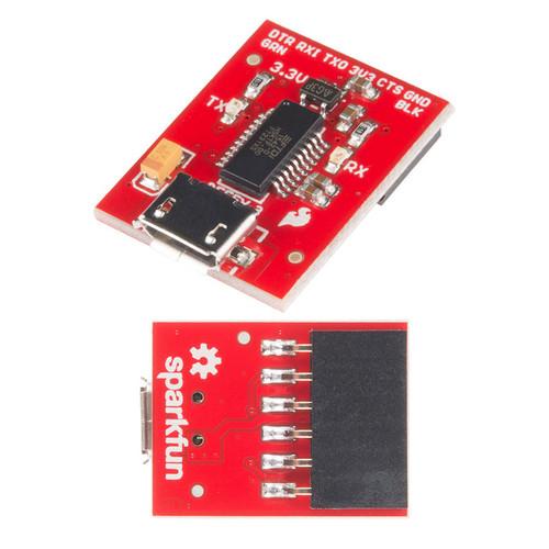 DEV-13746 - Beefy 3 FTDI FT231X Basic Breakout SparkFun - SparkFun