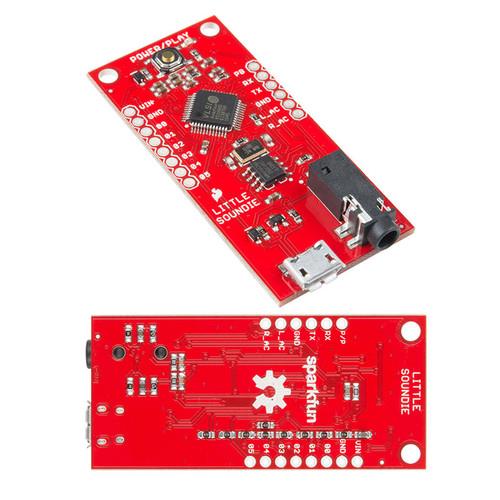 DEV-14006 - Little Soundie Audio Player VS1000D Board SparkFun - SparkFun