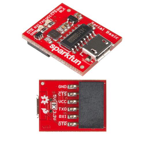 DEV-14050 - CH340G Serial Basic Breakout USB-to-Serial Adapter SparkFun - SparkFun