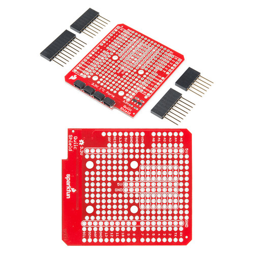 DEV-14352 - Qwiic Shield for Arduino SparkFun - SparkFun
