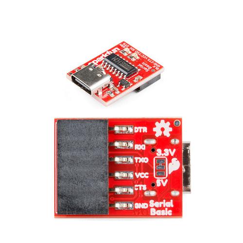 DEV-15096 - CH340C USB-C Serial Basic Breakout SparkFun - SparkFun