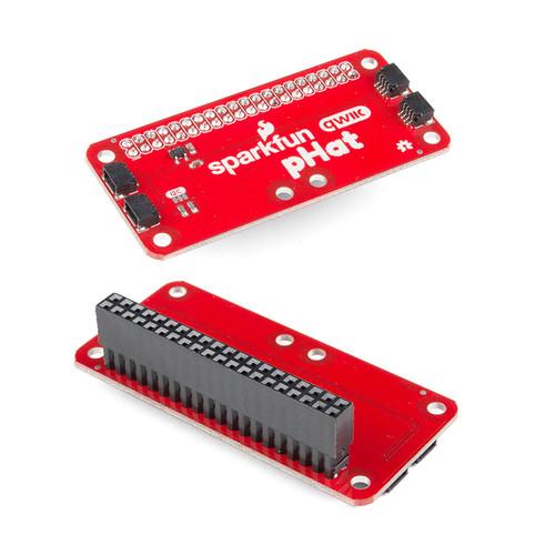 DEV-15351 - Qwiic pHAT for Raspberry Pi SparkFun - SparkFun