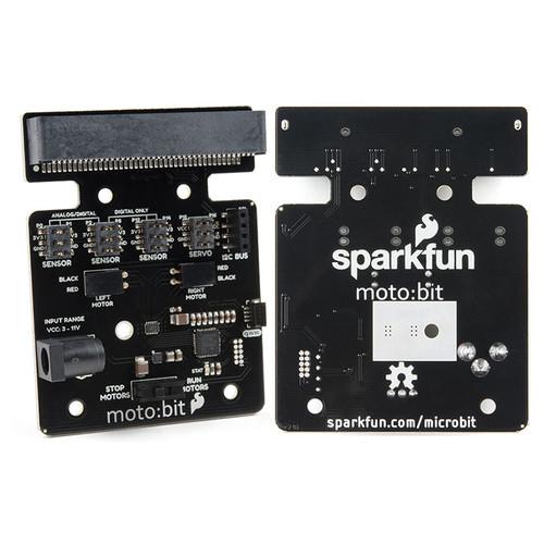 DEV-15713 - moto:bit micro:bit Carrier Board Qwiic SparkFun - SparkFun