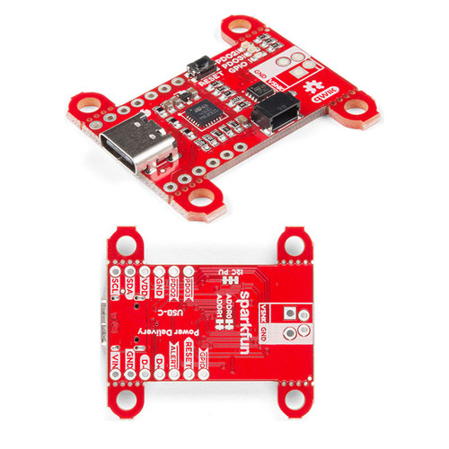 DEV-15801 - Power Delivery Board USB-C Qwiic SparkFun - SparkFun