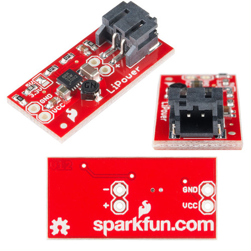 PRT-10255 - LiPower TPS61200 Boost Converter SparkFun - SparkFun