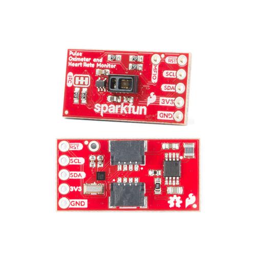 SEN-15219 - Pulse Oximeter Heart Rate Sensor MAX30101 MAX32664 Qwiic SparkFun - SparkFun