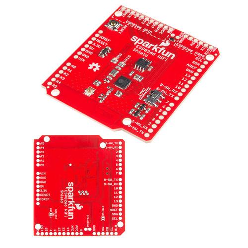 WRL-13287 - ESP8266 WiFi Shield Arduino Compatible SparkFun - SparkFun