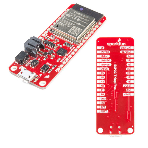 WRL-15663 - ESP32 WROOM Thing Plus WiFi Bluetooth Dev Board SparkFun - SparkFun