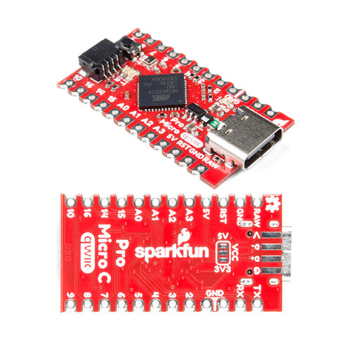 DEV-15795 - ATmega32U4 Pro Micro - USB-C Qwiic Development Board - SparkFun