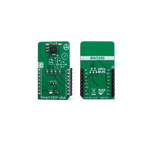MIKROE-3457 - Smart DOF Click BN080 ARM Cortex-M0+ MotionEngine Board - MikroElektronika