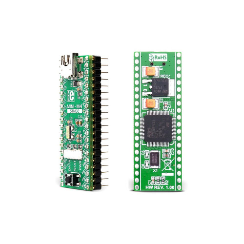 MIKROE-1367 - Mini-M4 STM32 ARM Cortex-M4 Development Board - MikroElektronika