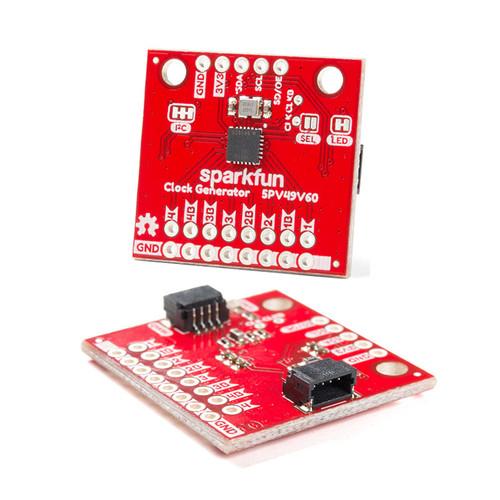 BOB-15734 - 5P49V60 Clock Generator Breakout Qwiic I2C SparkFun - SparkFun