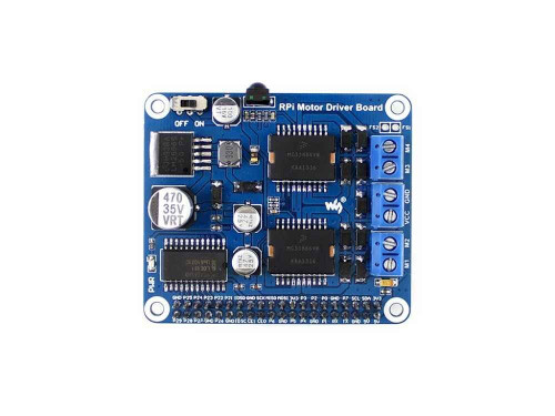 Raspberry Pi Expansion Board DC Motor / Stepper Motor Driver