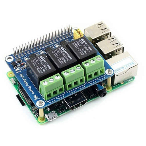 Raspberry Pi Expansion Board Power Relay