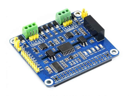 2-Channel Isolated RS485 Expansion HAT for Raspberry Pi - Waveshare