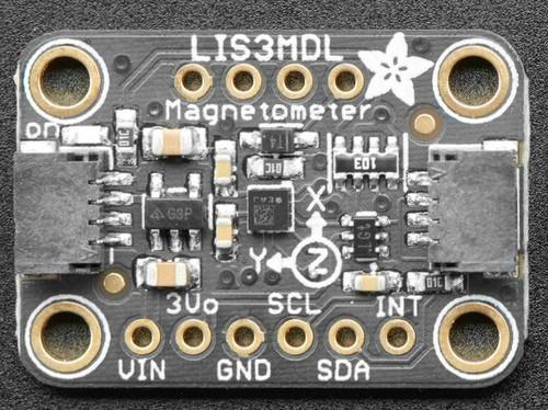 Adafruit Triple-axis Magnetometer - LIS3MDL