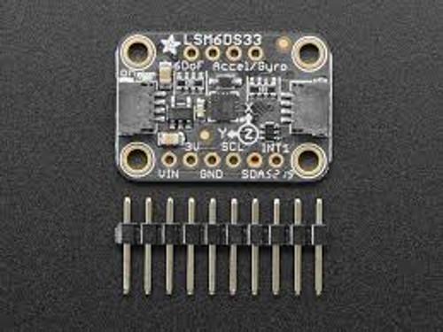 Adafruit LSM6DS33 6-DoF Accel + Gyro IMU