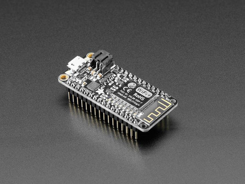 Assembled Adafruit Feather HUZZAH with ESP8266 With Headers