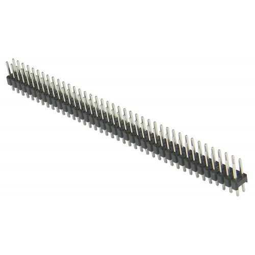 1.27mm 2×40 Pin Straight Male Header Berg Strip
