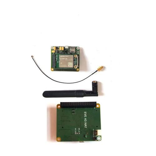 Evelta EC200T MiniPCIe IoT/M2M-optimized LTE Raspberry Pi HAT