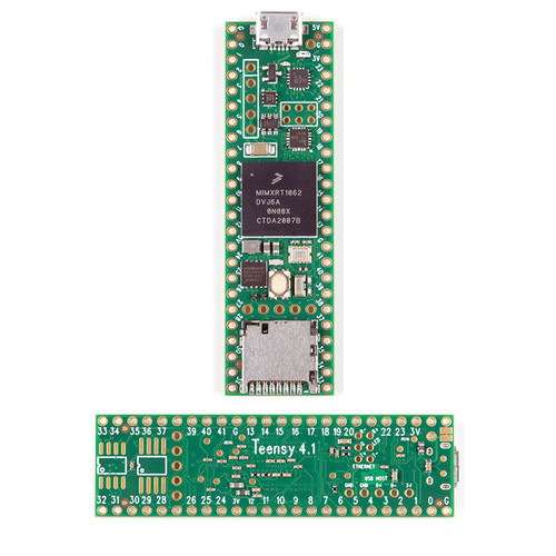 DEV-16771 - Teensy 4.1 iMXRT1062 ARM Cortex-M7 Development Board