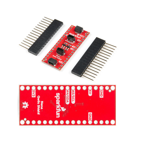 DEV-16789 - SparkFun Qwiic Shield for Arduino Nano I2C - SparkFun