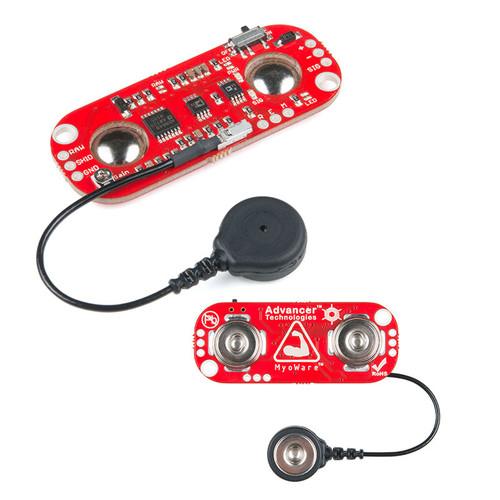 SEN-13723 - MyoWare Muscle Sensor Wearable Design - SparkFun