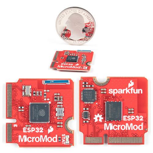 WRL-16781 - SparkFun MicroMod ESP32 Processor 32-Bit Embedded Evaluation Board - SparkFun